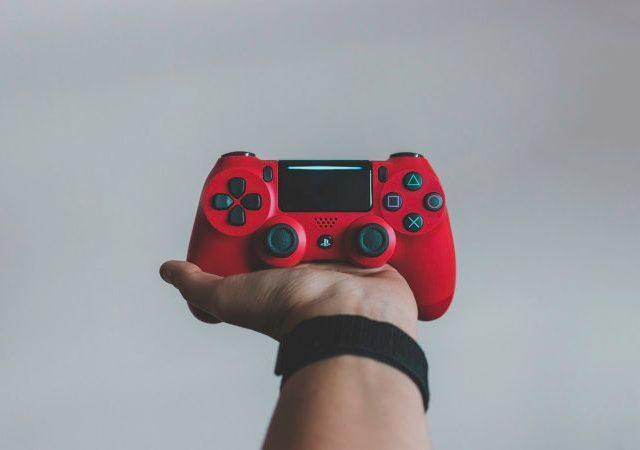 PS4のコントローラ