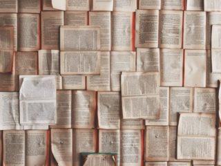 開かれた多くの本